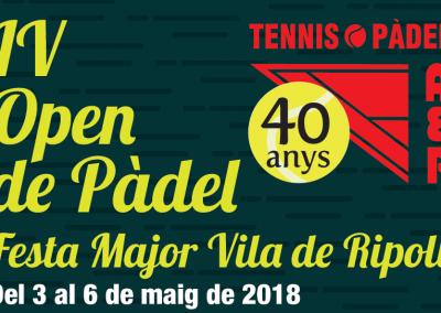 IV Open de Pàdel Festa Major Vila de Ripoll