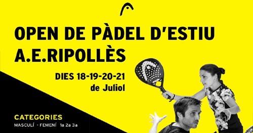 Open Pàdel Estiu AER 2019