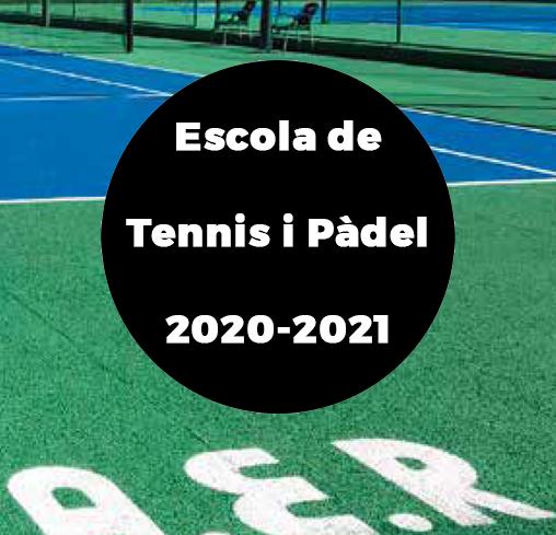 Escola de Tennis i Pàdel 2020/21